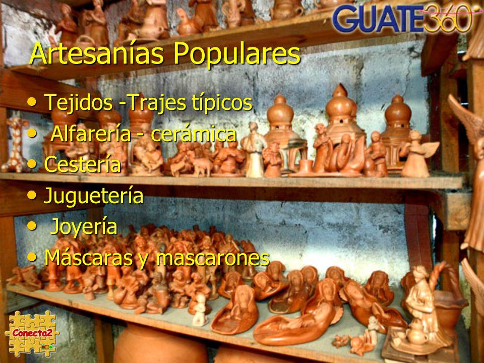 Artesanías Populares Tejidos -Trajes típicos Alfarería - cerámica