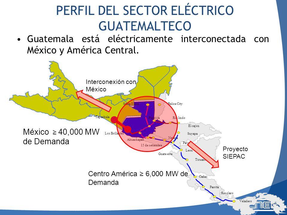 PERFIL DEL SECTOR ELÉCTRICO GUATEMALTECO