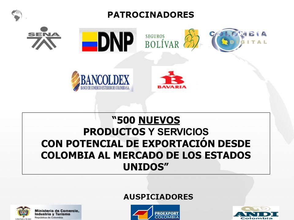 500 NUEVOS PRODUCTOS Y SERVICIOS