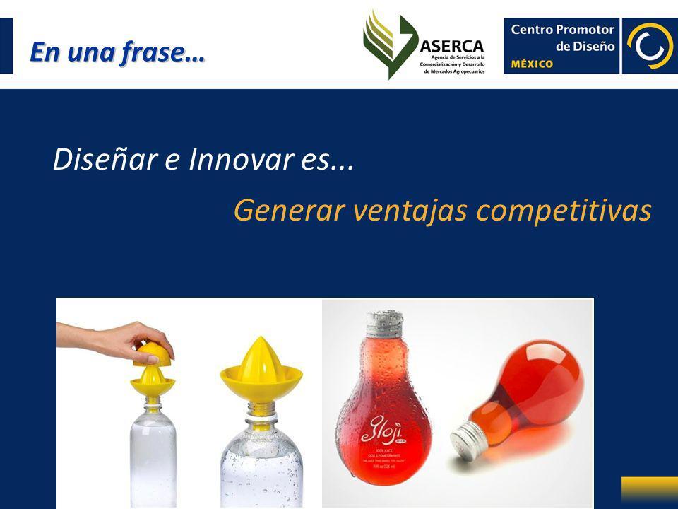 Generar ventajas competitivas