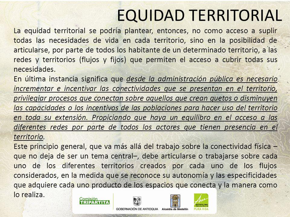 EQUIDAD TERRITORIAL