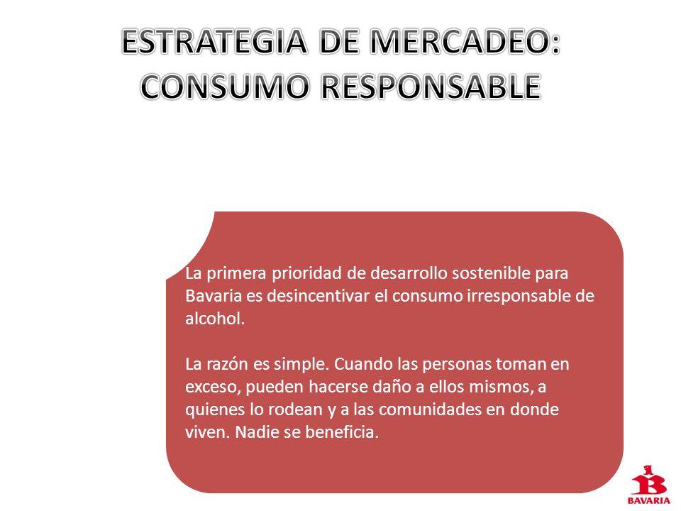 ESTRATEGIA DE MERCADEO: CONSUMO RESPONSABLE