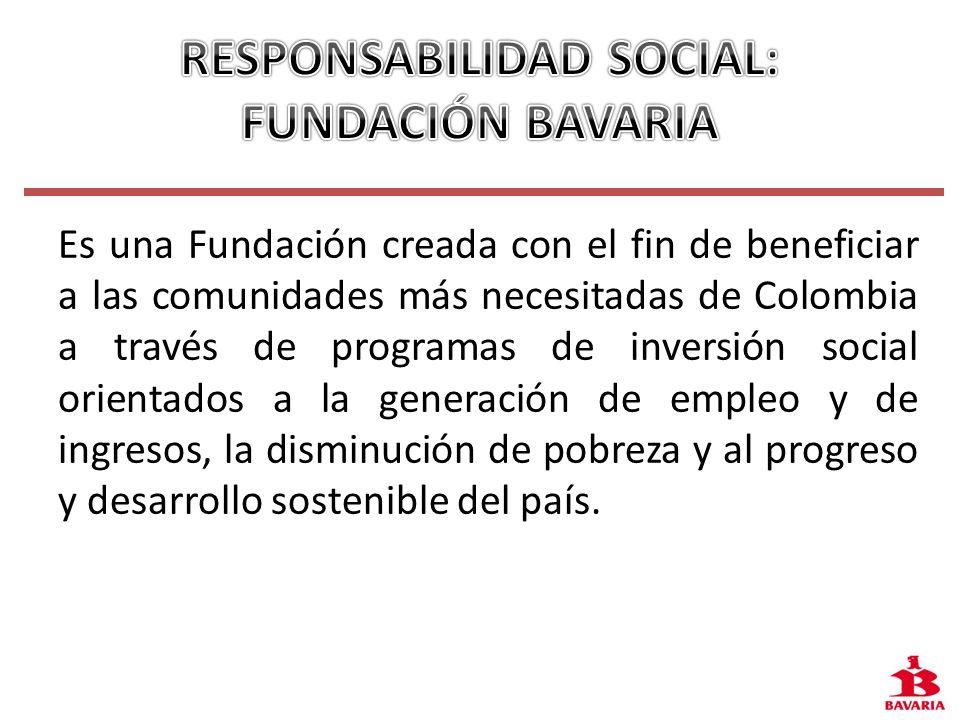 RESPONSABILIDAD SOCIAL: FUNDACIÓN BAVARIA