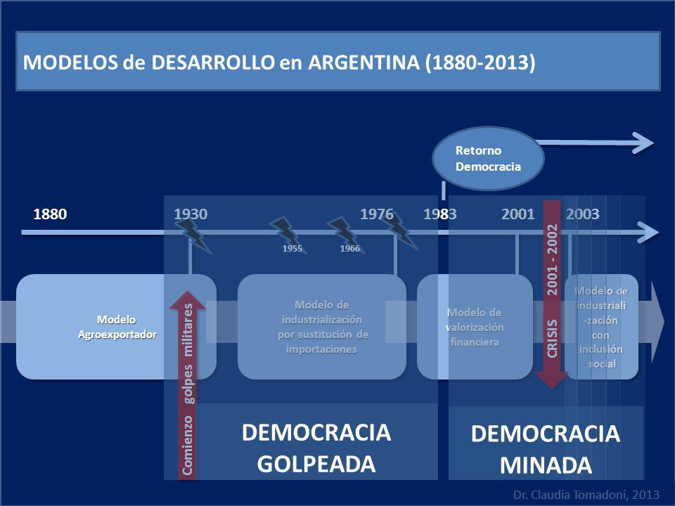 DEMOCRACIA GOLPEADA DEMOCRACIA MINADA