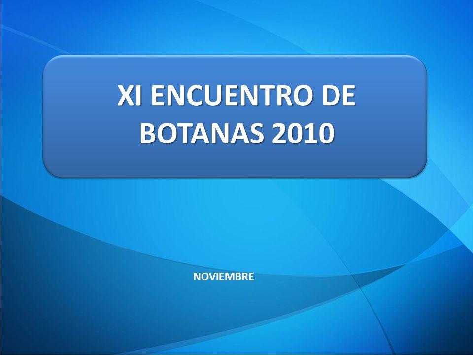 XI ENCUENTRO DE BOTANAS 2010