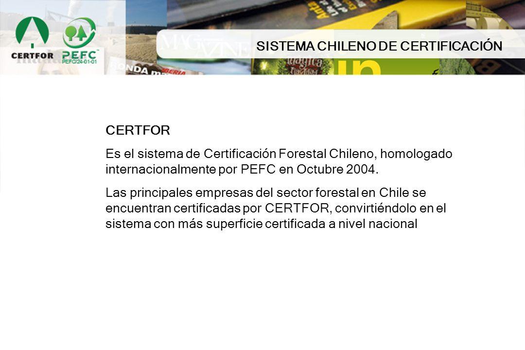 SISTEMA CHILENO DE CERTIFICACIÓN
