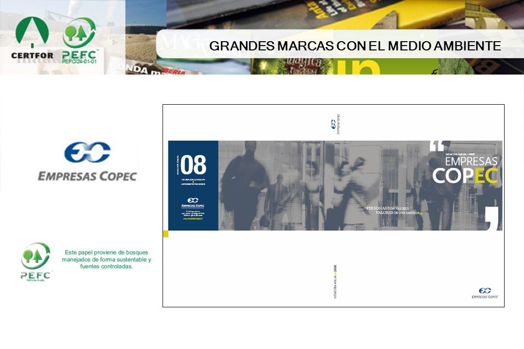 GRANDES MARCAS CON EL MEDIO AMBIENTE