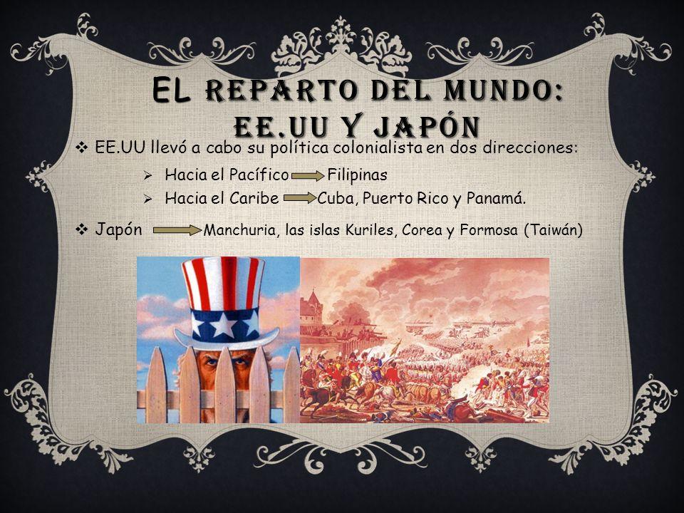 El reparto del mundo: EE.UU y Japón