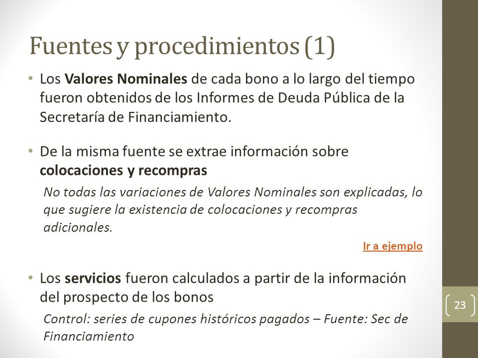 Fuentes y procedimientos (1)