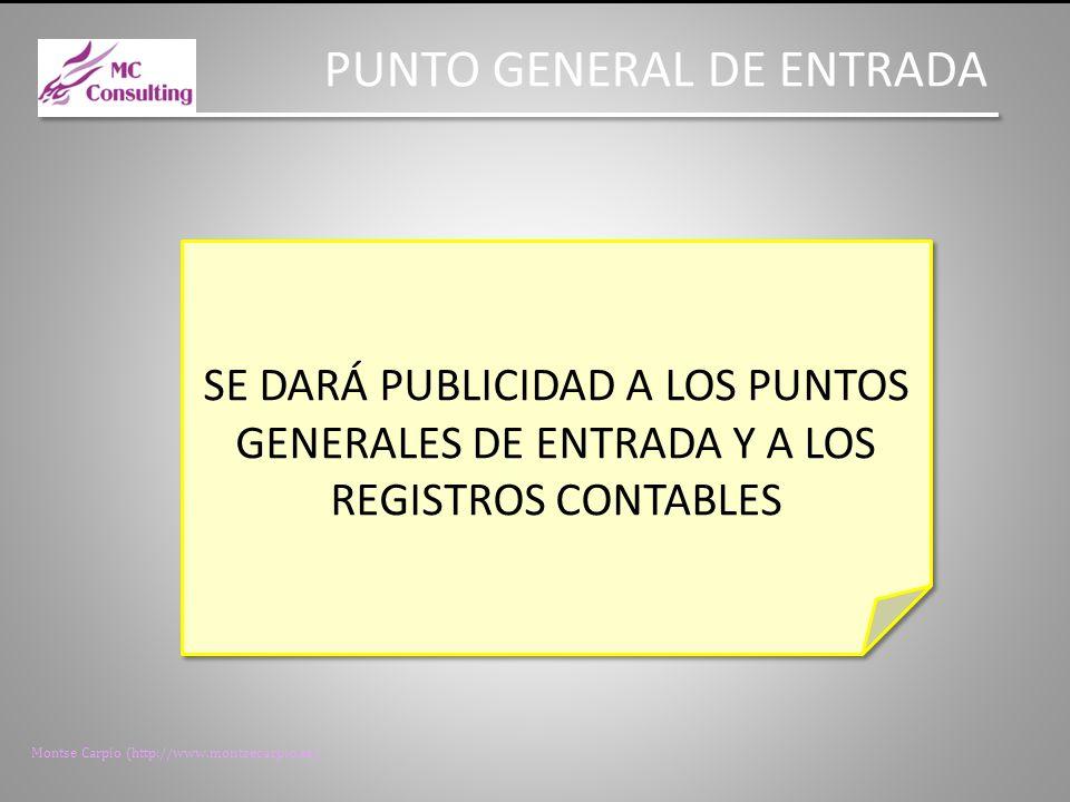 PUNTO GENERAL DE ENTRADA