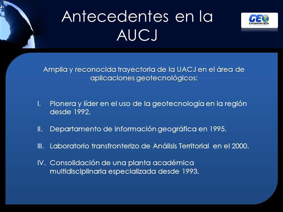 Antecedentes en la AUCJ