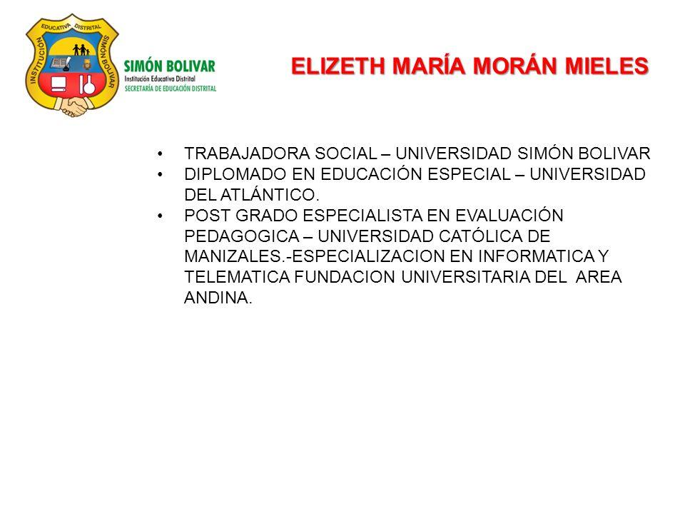 ELIZETH MARÍA MORÁN MIELES