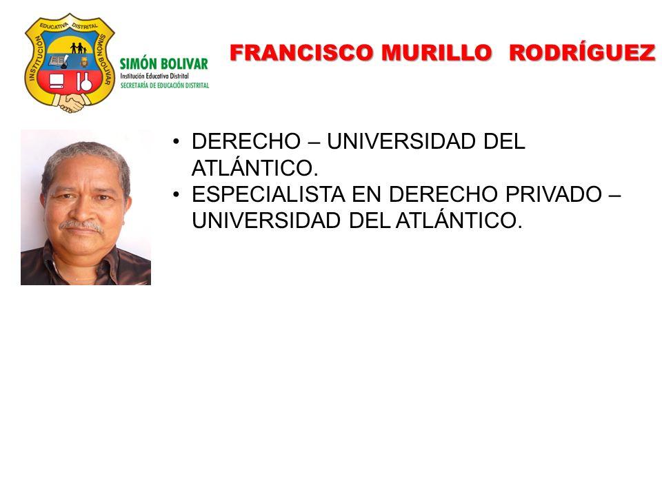 FRANCISCO MURILLO RODRÍGUEZ