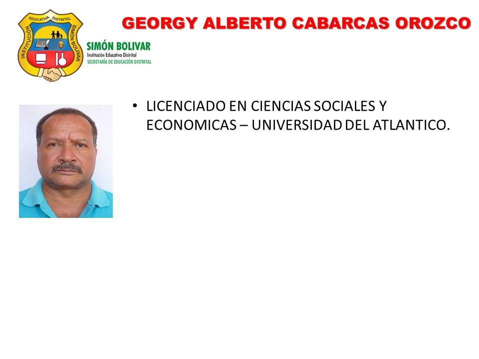GEORGY ALBERTO CABARCAS OROZCO