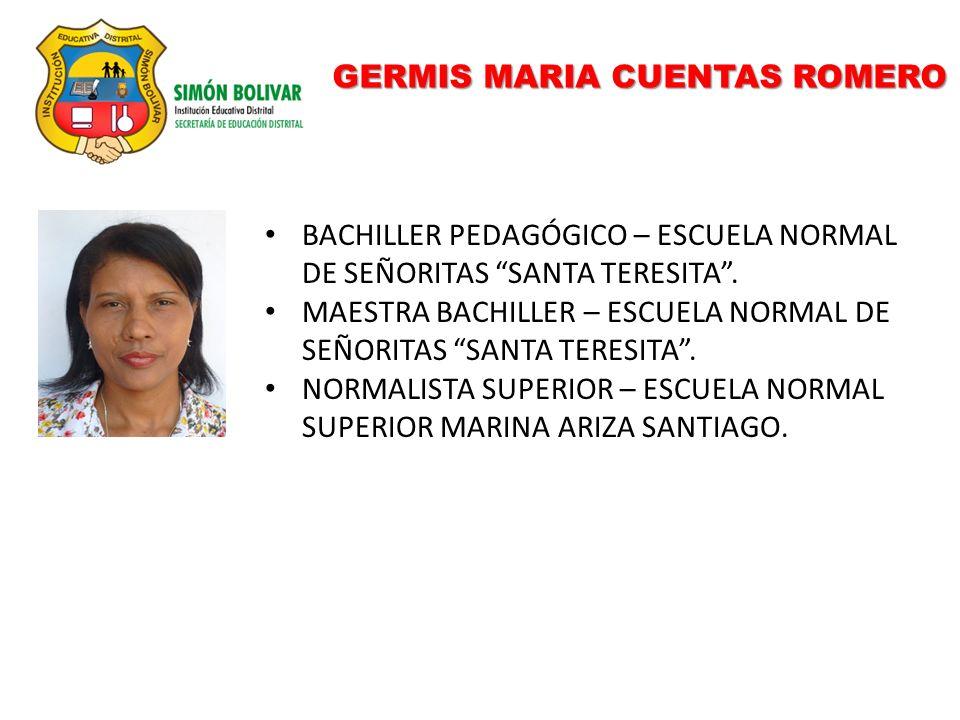 GERMIS MARIA CUENTAS ROMERO