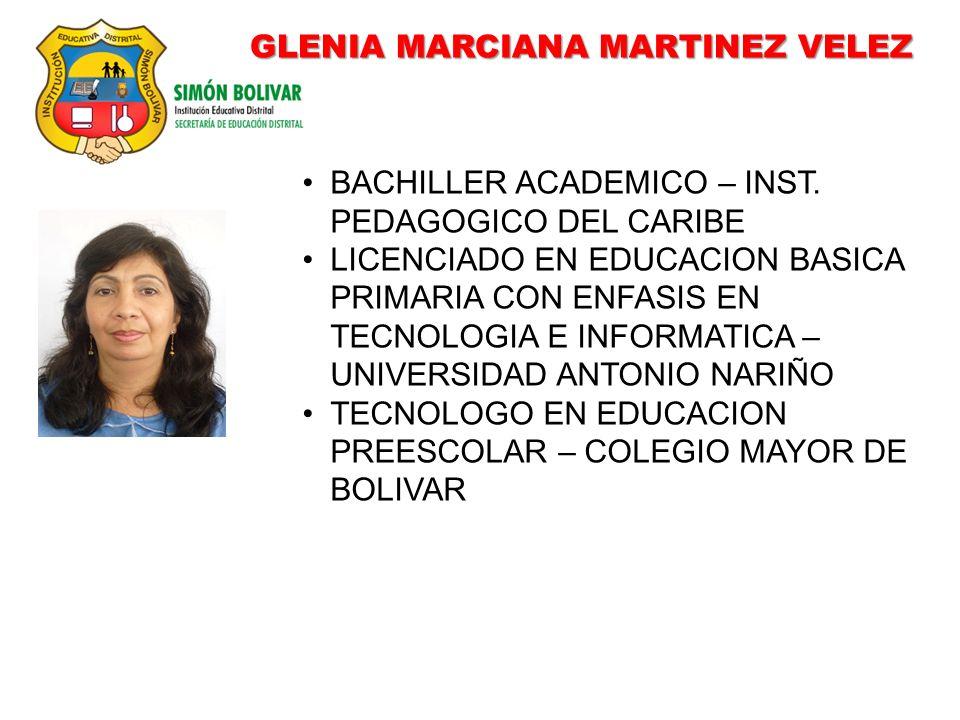 GLENIA MARCIANA MARTINEZ VELEZ