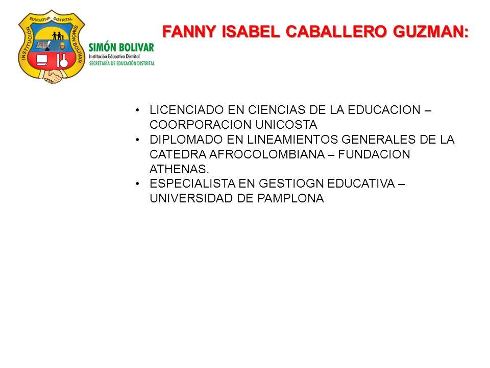 FANNY ISABEL CABALLERO GUZMAN: