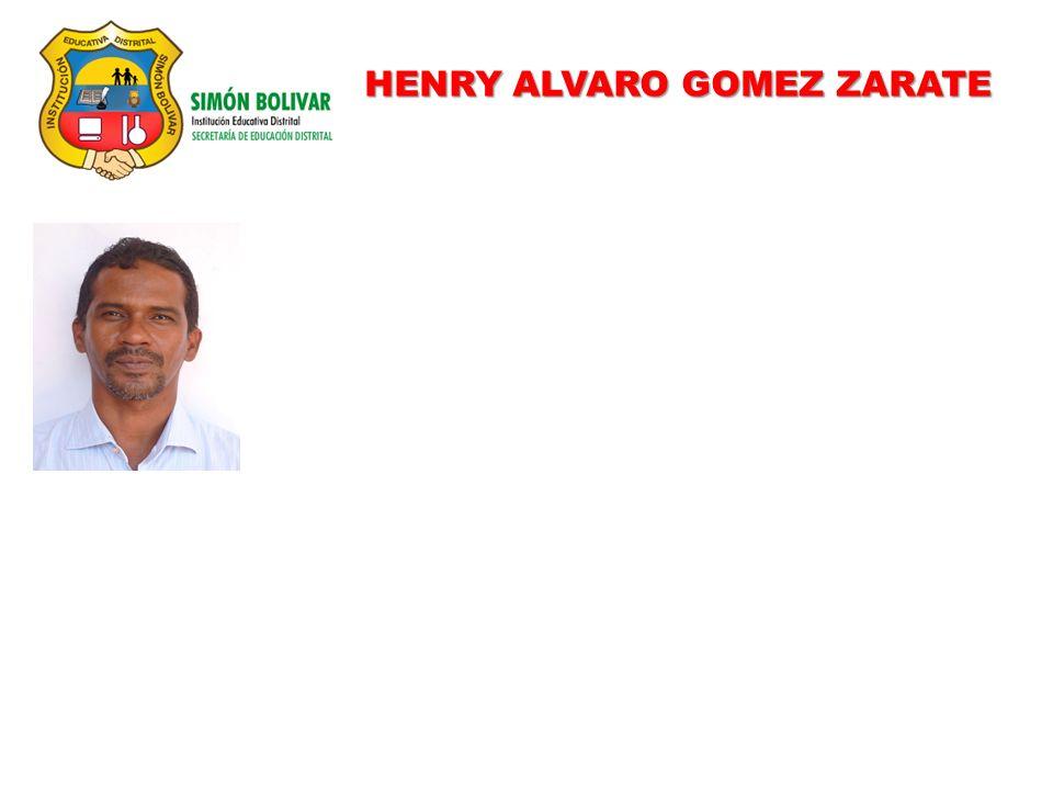 HENRY ALVARO GOMEZ ZARATE
