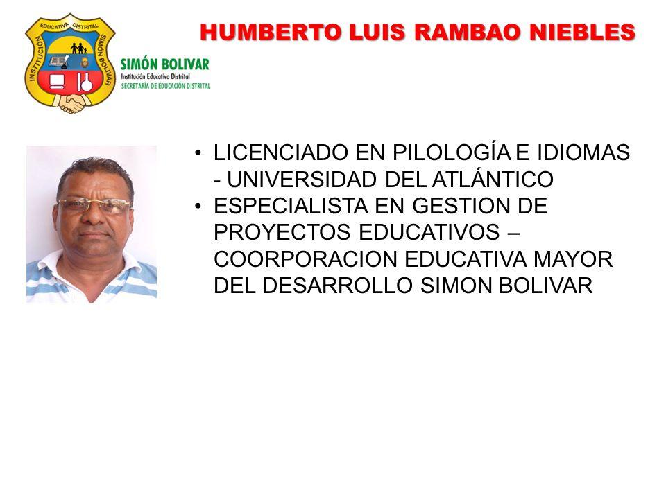 HUMBERTO LUIS RAMBAO NIEBLES