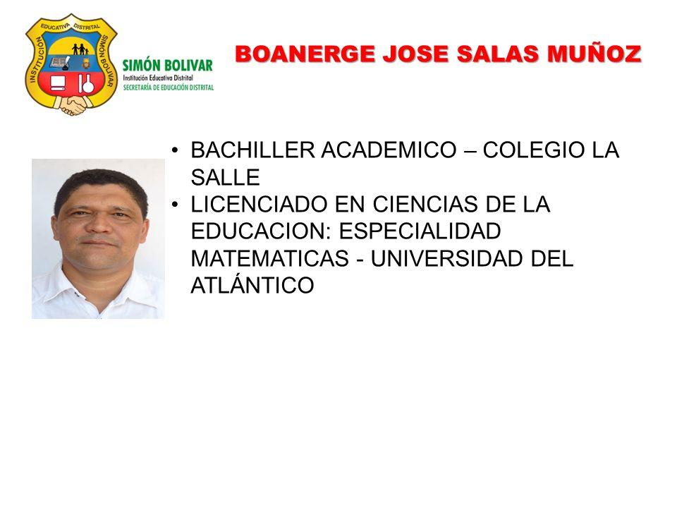 BOANERGE JOSE SALAS MUÑOZ