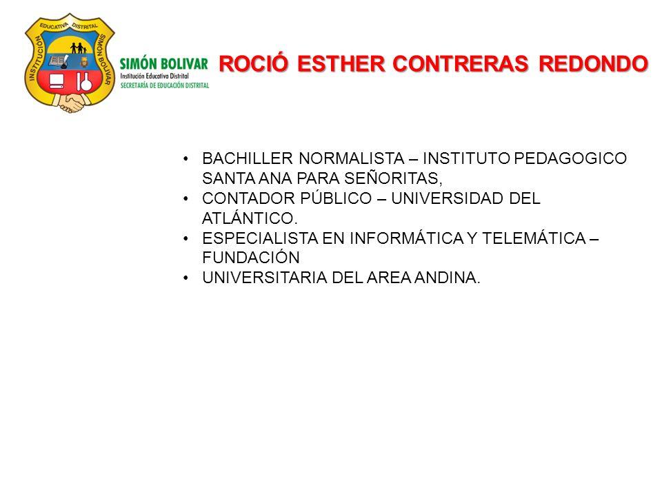 ROCIÓ ESTHER CONTRERAS REDONDO