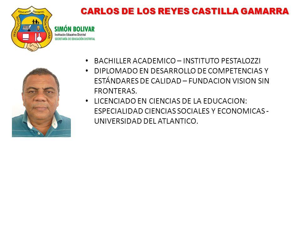 CARLOS DE LOS REYES CASTILLA GAMARRA