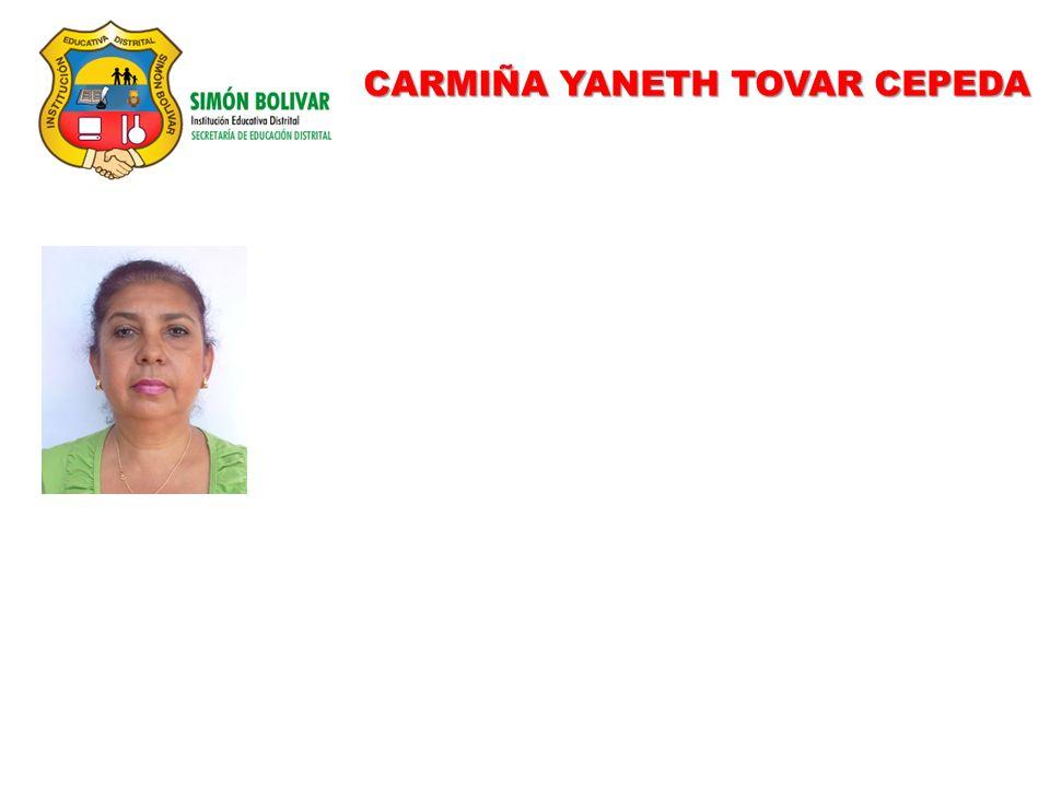 CARMIÑA YANETH TOVAR CEPEDA
