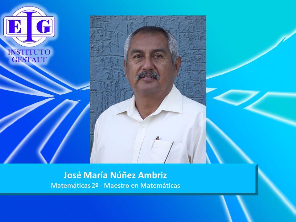 José María Núñez Ambriz