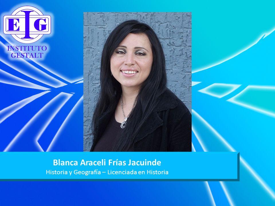 Blanca Araceli Frías Jacuinde
