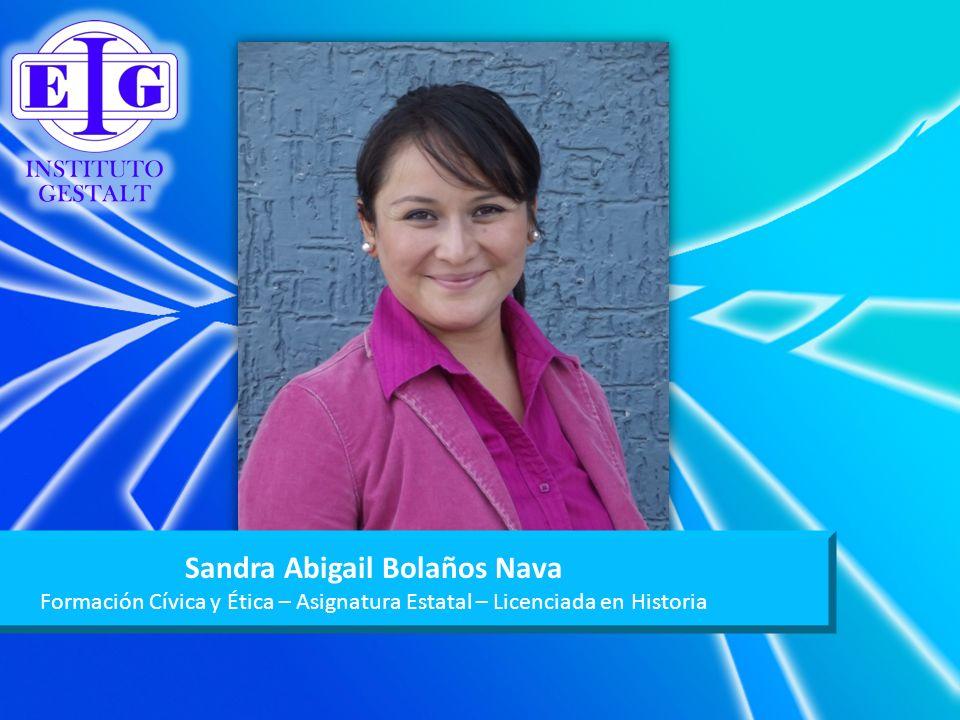 Sandra Abigail Bolaños Nava