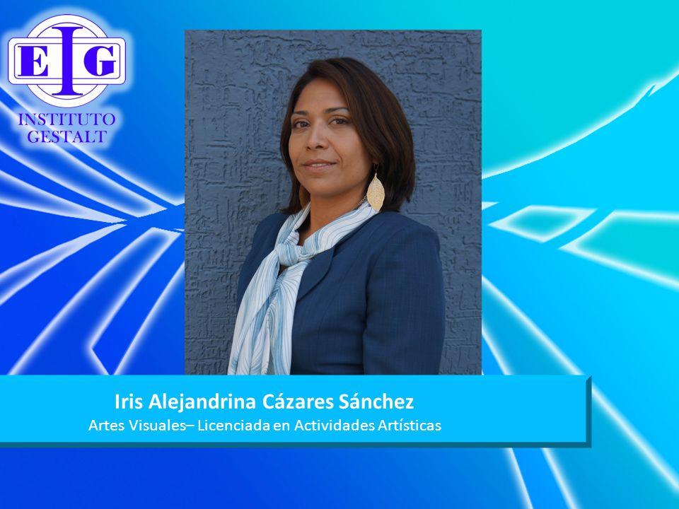Iris Alejandrina Cázares Sánchez