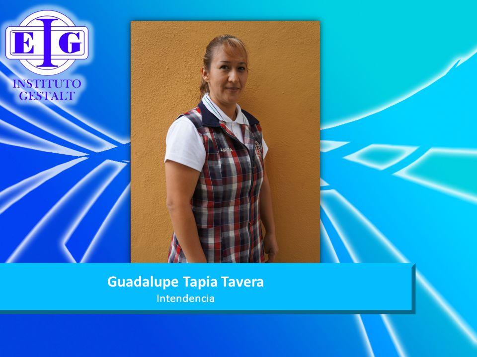 Guadalupe Tapia Tavera