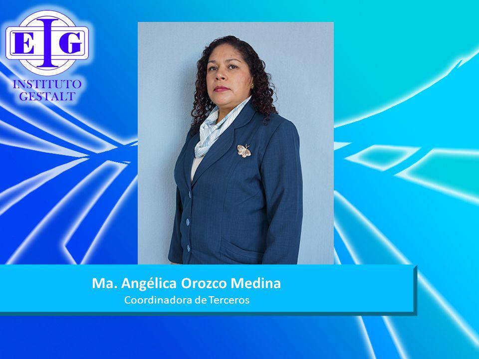 Ma. Angélica Orozco Medina
