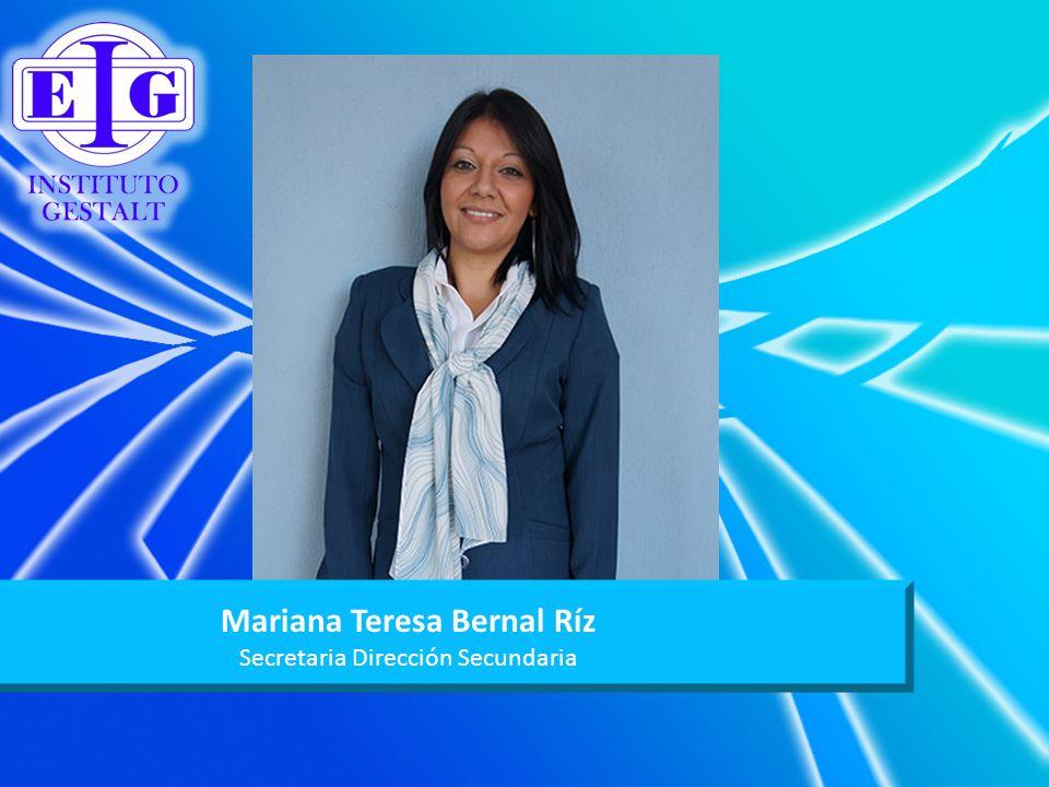 Mariana Teresa Bernal Ríz