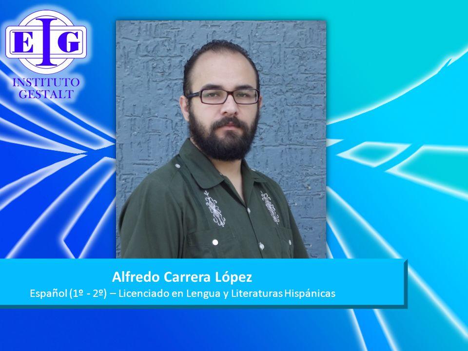 Español (1º - 2º) – Licenciado en Lengua y Literaturas Hispánicas