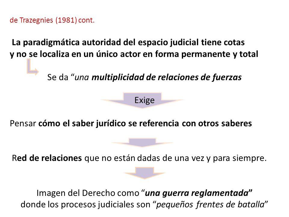 La paradigmática autoridad del espacio judicial tiene cotas