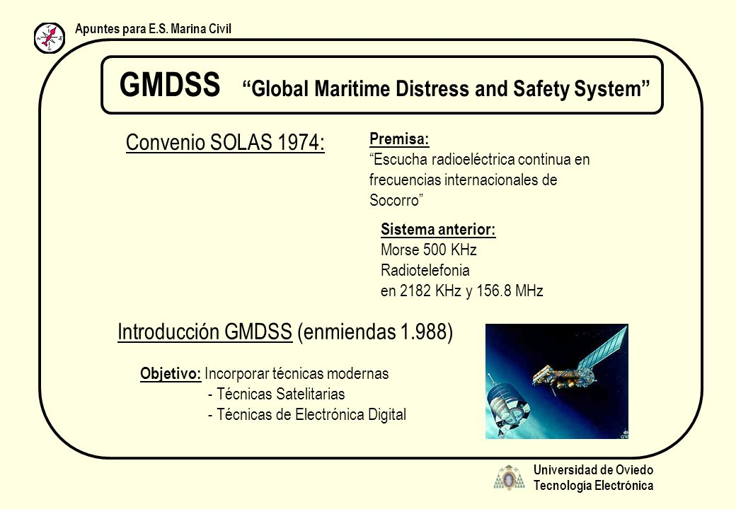 GMDSS Global Maritime Distress and Safety System