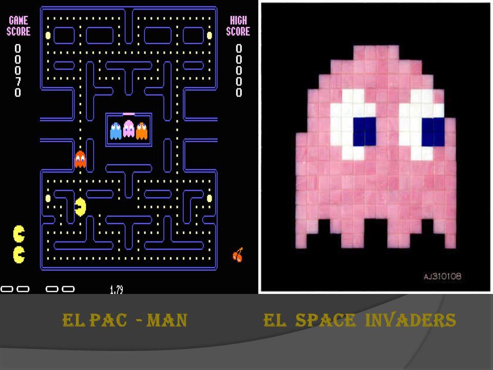 EL PAC - MAN EL SPACE INVADERS