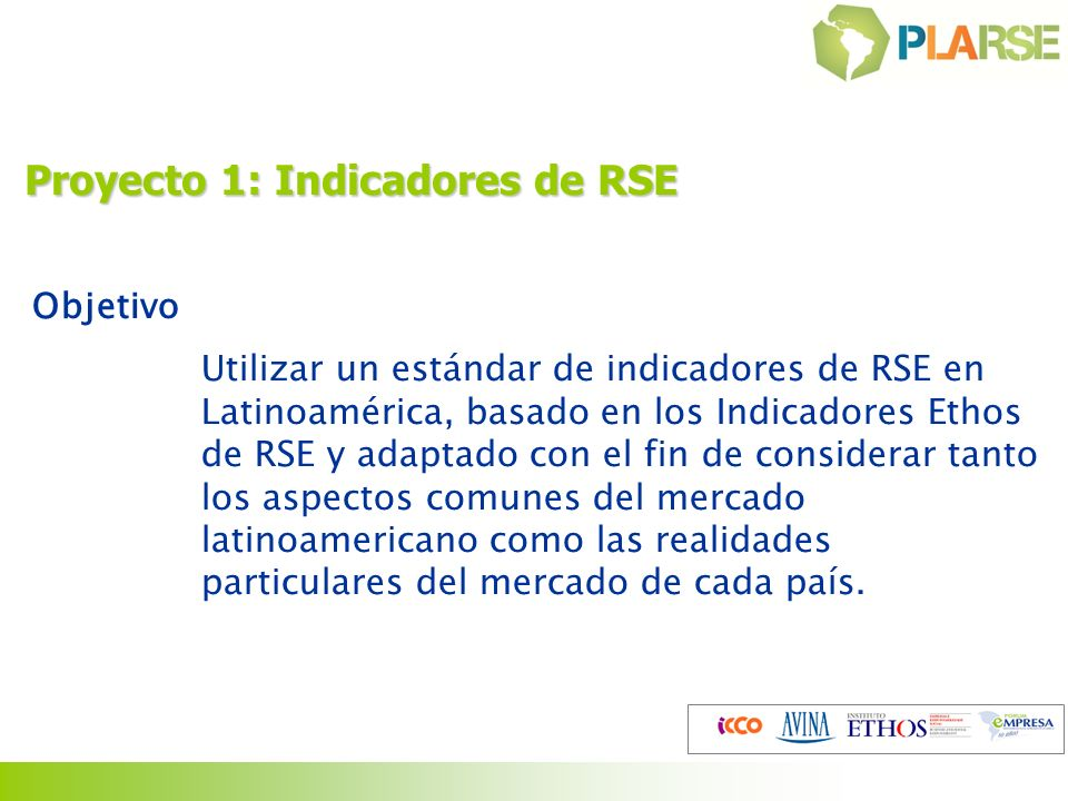 Proyecto 1: Indicadores de RSE