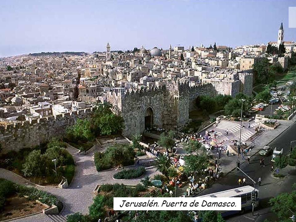 Jerusalén. Puerta de Damasco.