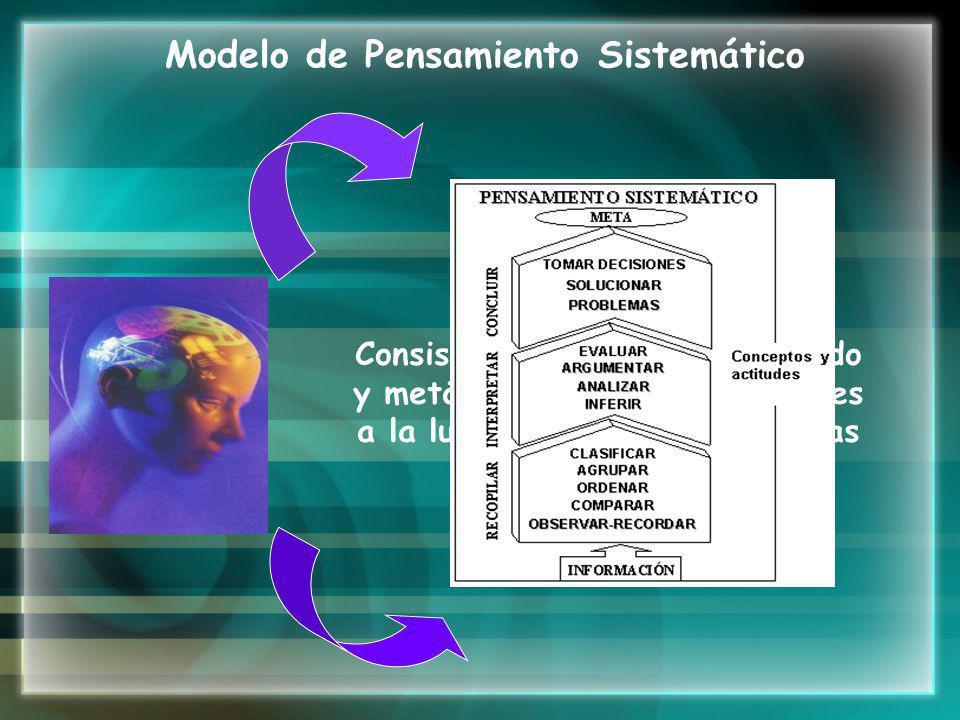 Modelo de Pensamiento Sistemático