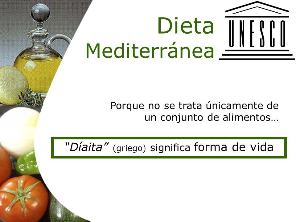 Díaita (griego) significa forma de vida