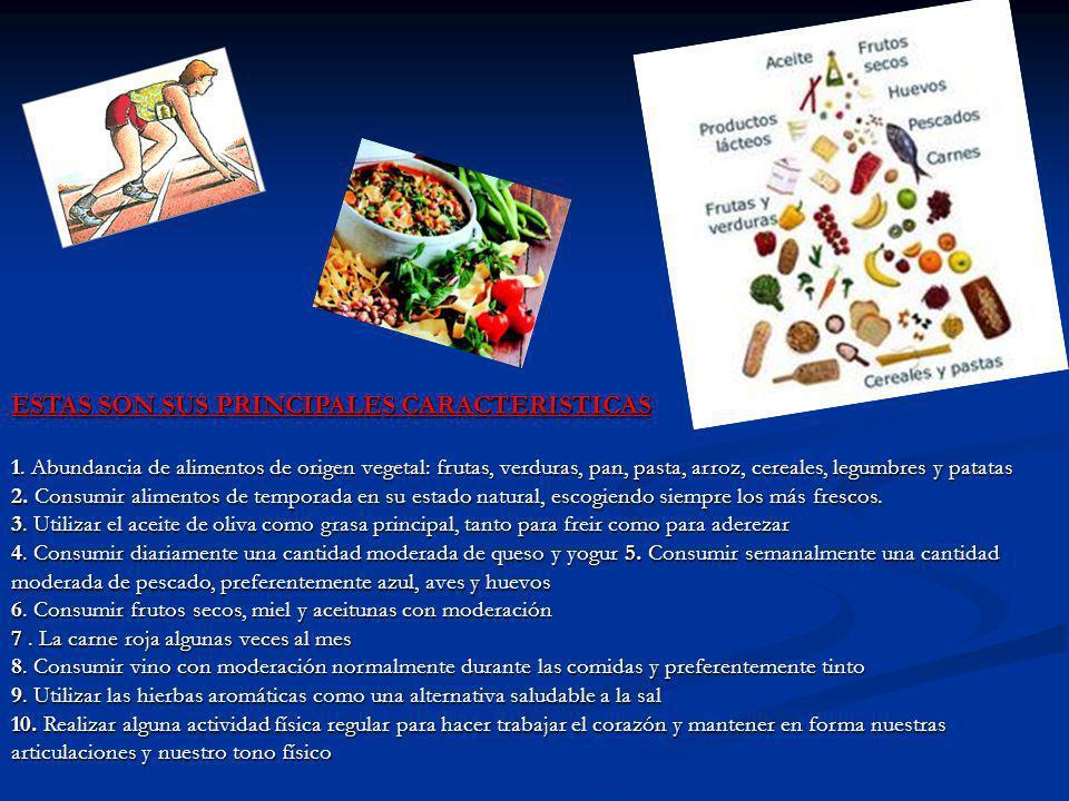 ESTAS SON SUS PRINCIPALES CARACTERISTICAS 1