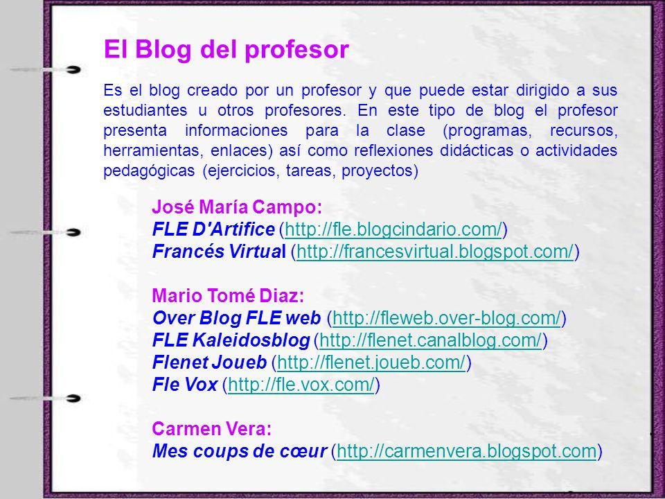 El Blog del profesor José María Campo: