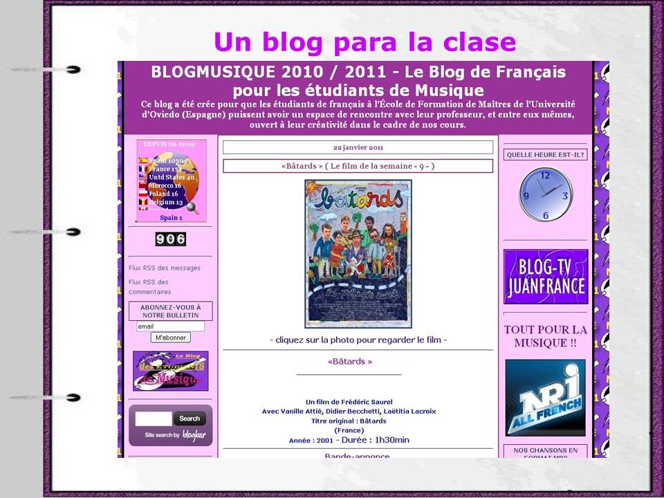 Un blog para la clase