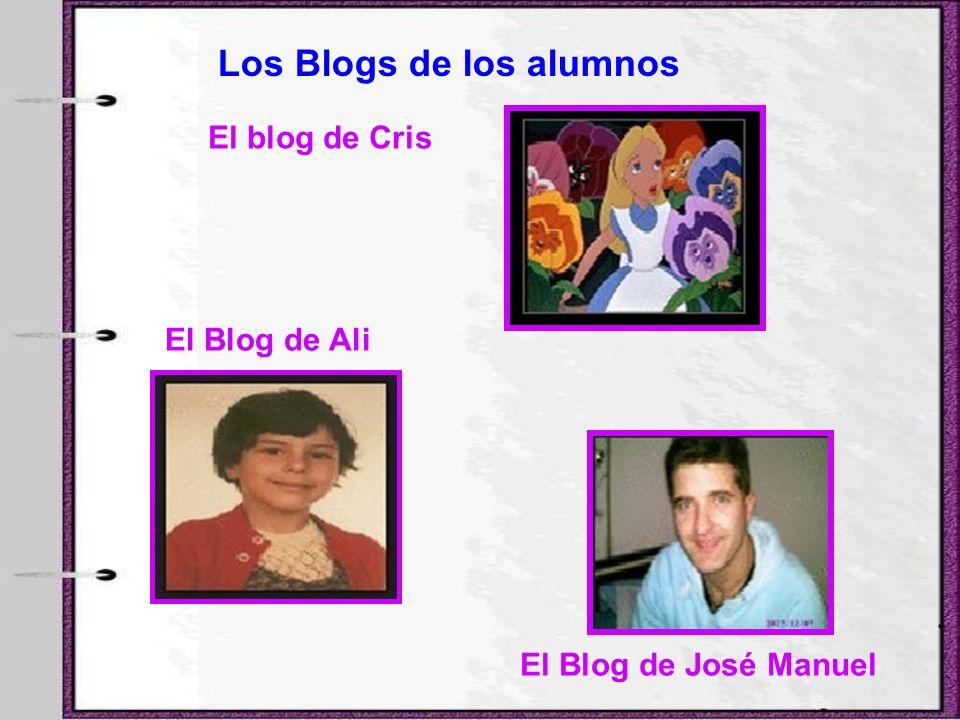 Los Blogs de los alumnos