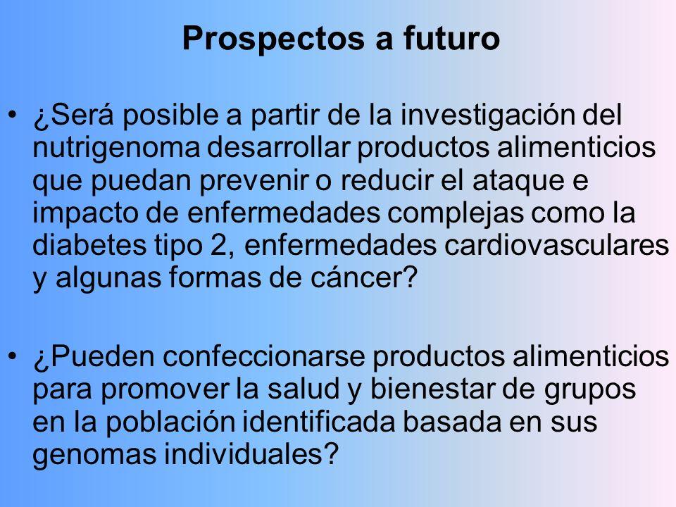Prospectos a futuro