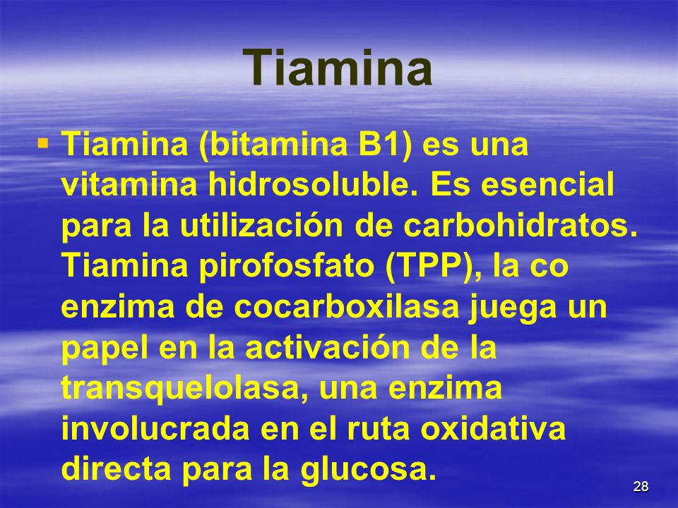 Tiamina