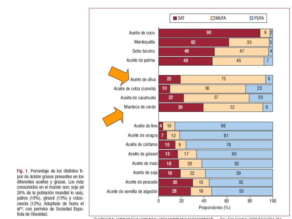 Guillén N et al. Aceite de oliva virgen extra y ratón carente de la apolipoproteína E