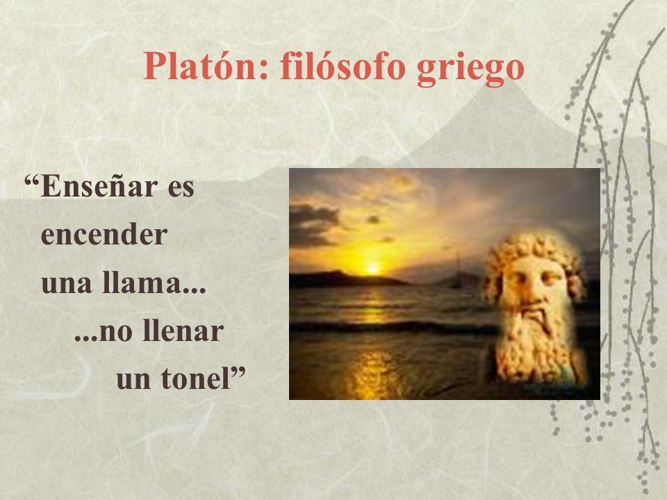 Platón: filósofo griego